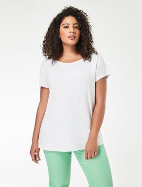 T-shirt en jersey effet crêpe