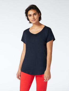 Crêpe jersey T-shirt