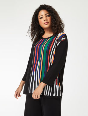 Crêpe jersey sweater