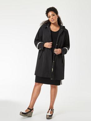 Gabardine raincoat