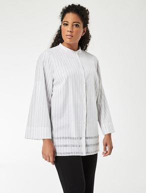 Cotton and linen shirt