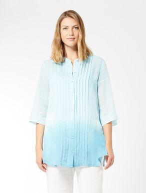 Pale ramie shirt