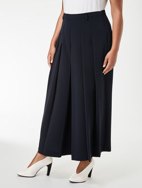 Stretch fabric culottes