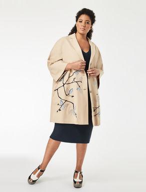 Gabardine overcoat