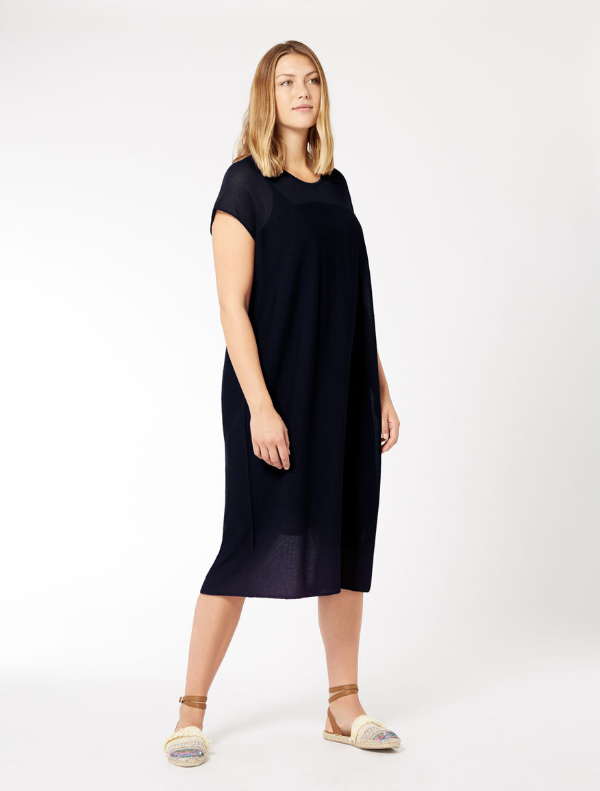 Robe en viscose stretch