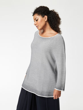 Reversible cotton jumper