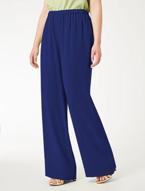 Weite Hose aus leichtem Triacetat