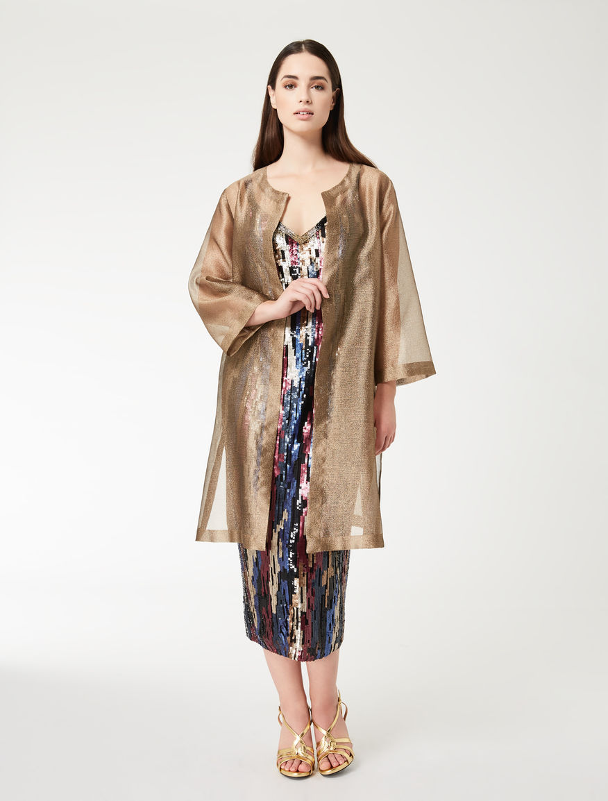 Organza duster coat