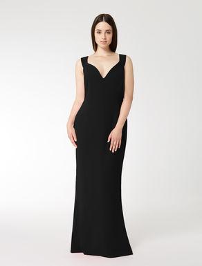 Langes Kleid aus Triazetat