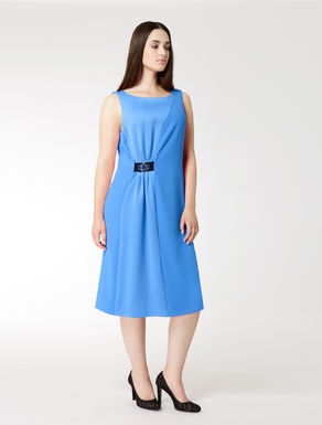 Floaty crêpe dress