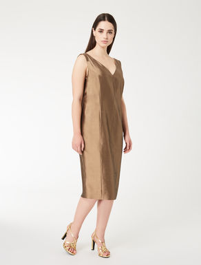 Shantung tube dress