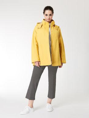 Technical fabric raincoat