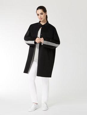 Cappotto in double di lana nylon