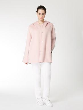 Double wool-nylon jacket