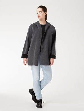 Double wool jacket