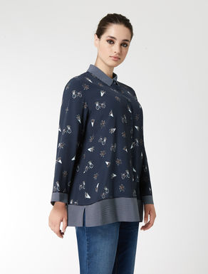 Floaty viscose shirt