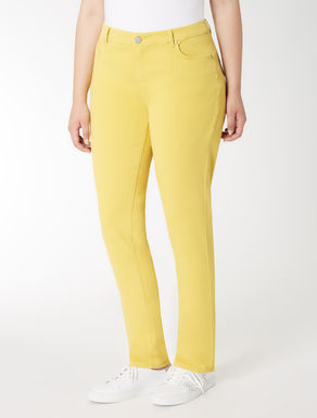 Stretch cotton Wonder-fit trousers