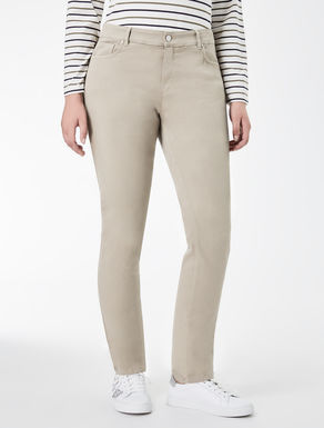 Stretch cotton Wonder-fit trousers