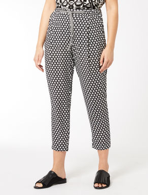 Floaty viscose trousers