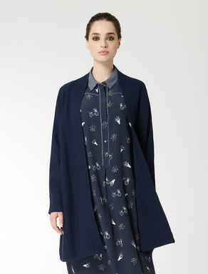 Long cotton cardigan