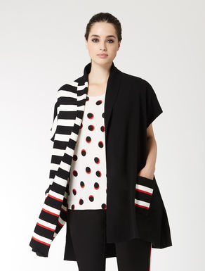 Crêpe cotton gilet