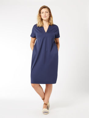 Cotton interlock dress