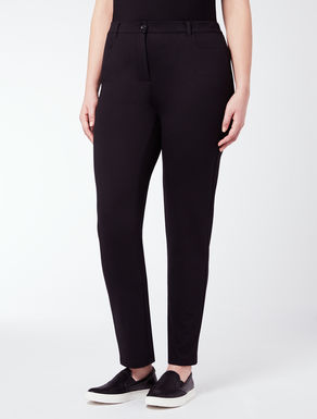 EASY Slim-Fit-Hose aus Jersey