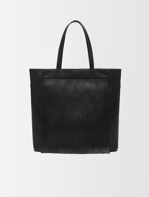 Shopper with fringing