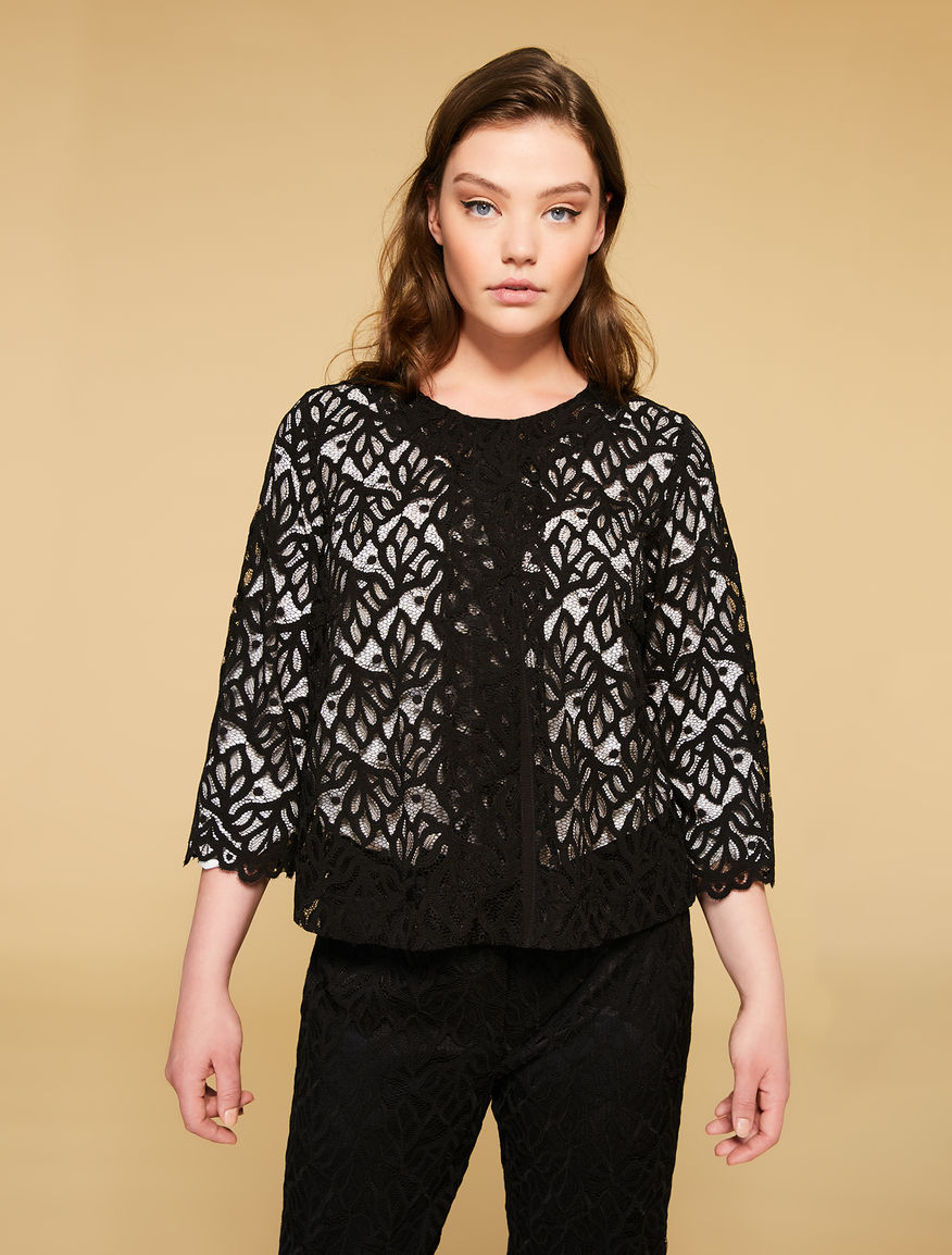 Alençon lace jacket