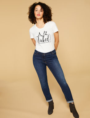Perfect-fit stretch denim jeans
