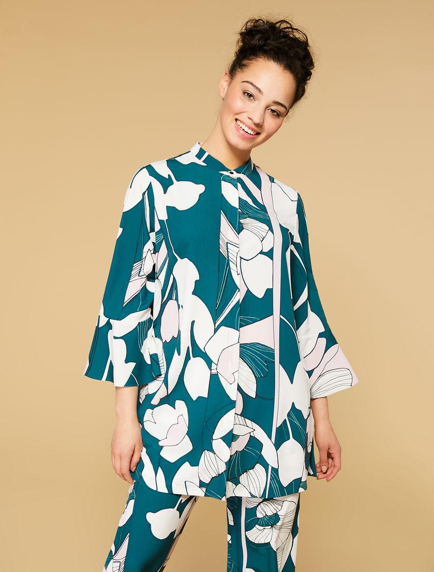 Long marocain shirt
