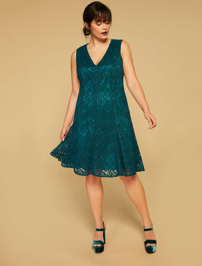 Alençon lace dress