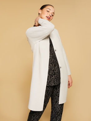 Knit duster coat