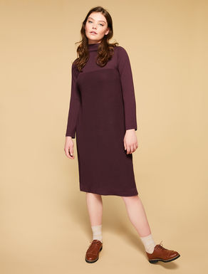 Soft wool blend dress