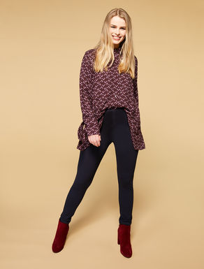 Pantalon leggings au point Milan