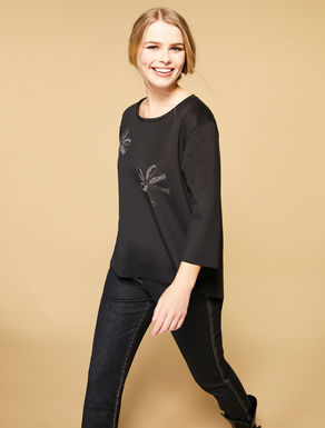 Scuba stretch tunic