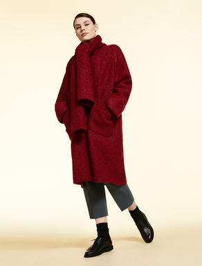 Manteau en jersey bouclette