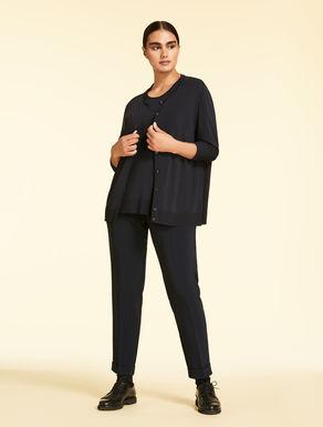 Pantalone slim fit in triacetato