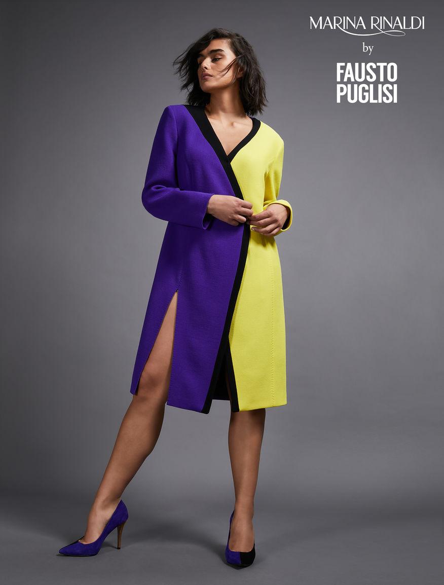 Kleid aus reinem Woll-Crêpe