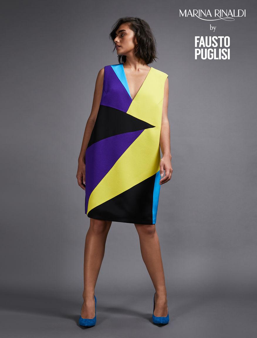 Silk broadcloth dress