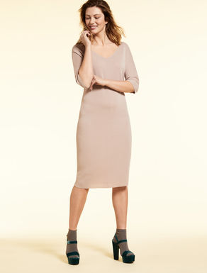 Knit sheath dress