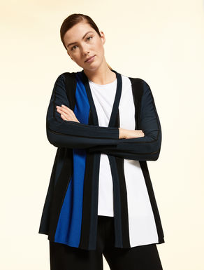 Opaque viscose cardigan