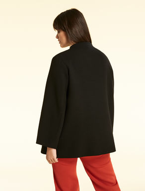 Double-layer wool jacket