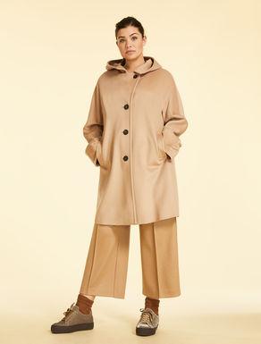 Manteau en drap zibeliné