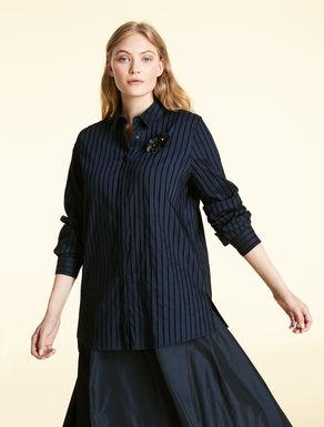 Chenille stripe shirt