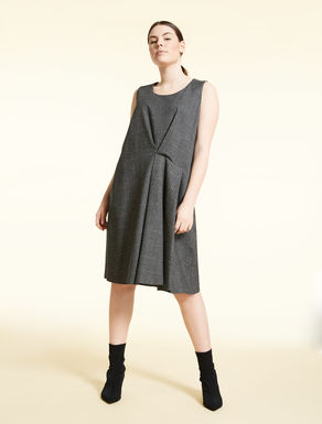 Cotton and wool dress