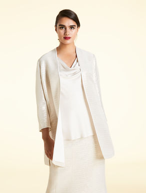 Textured lurex jacket