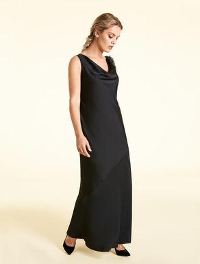 Long frisottino dress