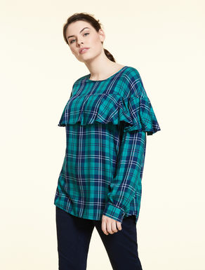 Fluid viscose blouse