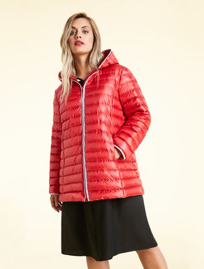 Water-repellent nylon down jacket